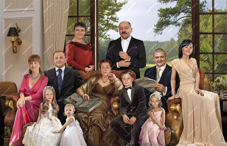 фотомонтаж моя семья радости